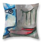 Dialogos 16 Throw Pillow