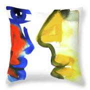 Dialogos 35 Throw Pillow