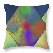 Diamond Abstract Throw Pillow