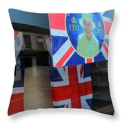 Diamond Jubilee 1952-2012 Throw Pillow
