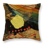 Diamond Sand Storm Throw Pillow