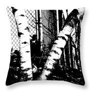 Dichotomy Throw Pillow