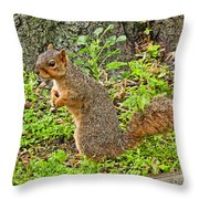 Did Someone Call Me Throw Pillow