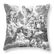 Diderot Encyclopedia Throw Pillow