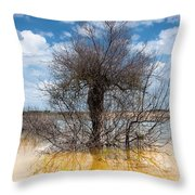 Die Standing Throw Pillow