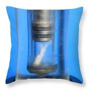 Diesel Engine Compression Demonstration Throw Pillow