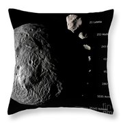 Digital Composite Showing Throw Pillow by Stocktrek Images