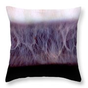 Digital Inversion Of Human Eye Throw Pillow
