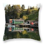 Dildo Newfoundland Throw Pillow