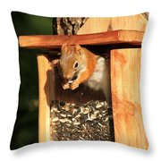 Dine In Or Out Throw Pillow