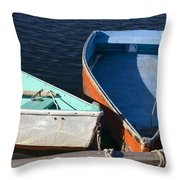 Dinghy Tie Up Throw Pillow
