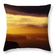 Dingle Peninsula, County Kerry Throw Pillow