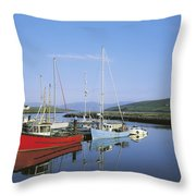 Dingle Peninsula, Dingle Harbour Throw Pillow