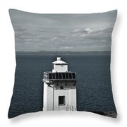 Dingle Peninsula Lighthouse Ireland Throw Pillow