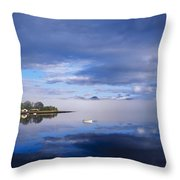 Dinish Island, Kenmare Bay, County Throw Pillow