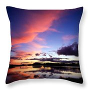 Dinish Island, Near Kenmare, Ring Of Throw Pillow