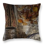 Dinner Stein  Throw Pillow