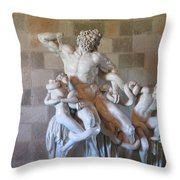 Dionysus Of Rhodes Throw Pillow
