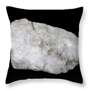 Diopside In White Light Throw Pillow