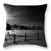 Direction Of Enlightenment  Throw Pillow