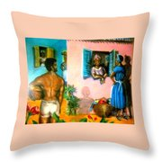 Dirty Laundry/gossip Throw Pillow
