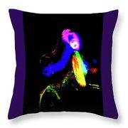 Disco Dancer Throw Pillow
