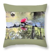 Discoveries Throw Pillow