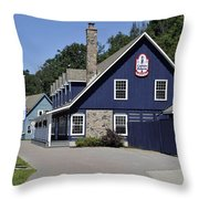 Discovery Harbour Throw Pillow