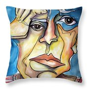 Disjointed Thought Throw Pillow