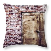 Dismal At Best - Rusty And Crusty Throw Pillow