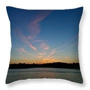 Dissipating Throw Pillow