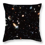 Distant Galaxies Throw Pillow