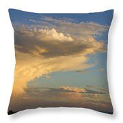 Dive Into The Night Throw Pillow