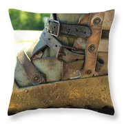 Divers Boot Throw Pillow