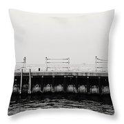 Diversey Harbor Throw Pillow