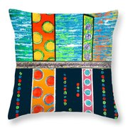 Diversity - Friction Between Factions V3 Throw Pillow