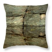 Dividing Line Throw Pillow
