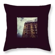 Divine Throw Pillow by Katie Cupcakes