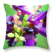 Divine Purple Throw Pillow