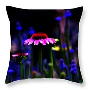 Divine Spirit Of Mother Earth Throw Pillow
