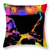 Dizzy 4 Your Love Throw Pillow