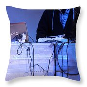 Dj Peter Pan In Bethlehem Throw Pillow