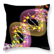 Dna 38 Throw Pillow