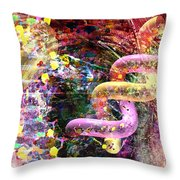 Dna Dreaming 3 Throw Pillow