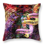 Dna Dreaming 4 Throw Pillow