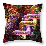 Dna Dreaming 6 Throw Pillow