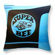 Dodge Charge Super Bee Logo  Throw Pillow