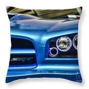 Dodge Charger Front Throw Pillow