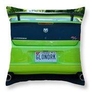 Dodge Charger Hemi 9 Throw Pillow