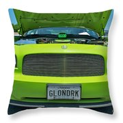Dodge Charger Hemi  Throw Pillow